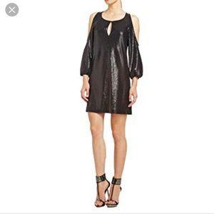 GORGEOUS Black Sequins Dress